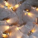 Guirlande lumineuse personnalisée au Domaine de La Chanteleuserie de Thierry BOUCARD à Benais- Décoration Arts de la Table- 20 leds