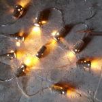 Guirlande lumineuse personnalisée à Pierre et Bertrand COULY à Chinon- à piles de 10 leds