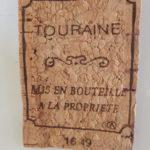 Magnet en bouchon en liège-Touraine-aimant à coller sur un tableau magnétique ou un frigo