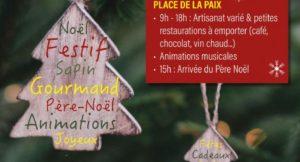 Affiche Marché de Noël à St Aignan (41)