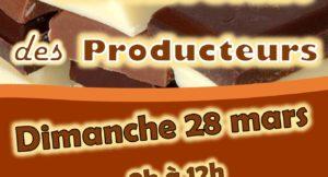 Marché du chocolat à Couture-sur-Loire Dimanche 28 Mars de 9h à 12h avec Producteurs et Artisans